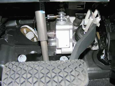 0 Pedal Simu Sba System This Is The Brake Of A Ford Escape Hybrid