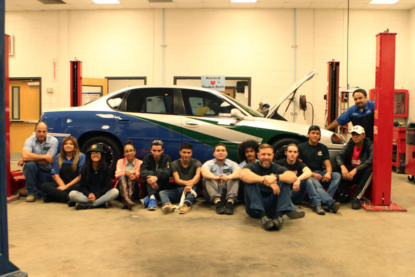 The Navigators from Maxwell High School of Technology in Atlanta, GA.