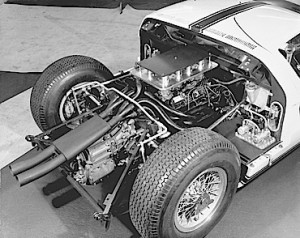 1964 Ford GT 289 engine