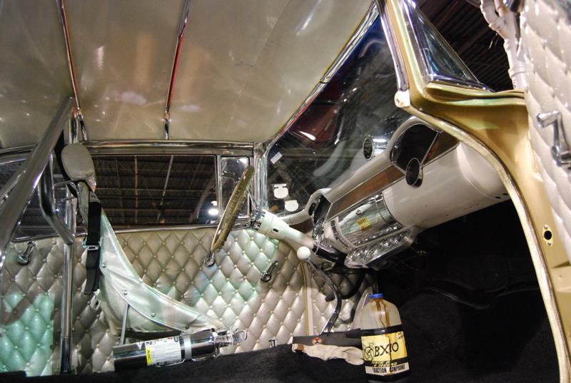 "1955 Chevrolet Bel Air ""gasser"" style racing car"