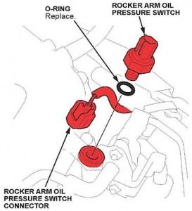Honda Tech Tip: Oil Pressure Switch Fails Intermittently -