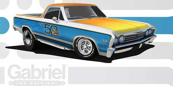 """Gabriel and RTM's """"Truck Tech"""" show are hosting this sweepstakes to give away a completely custom retro El Camino truck"""