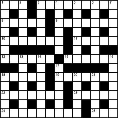 March 2017 Crossword Puzzle