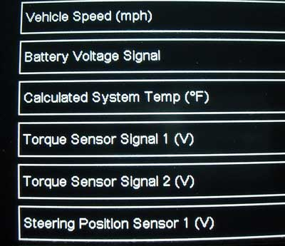 Diagnosing Electrical Power Steering (EPS) Issues