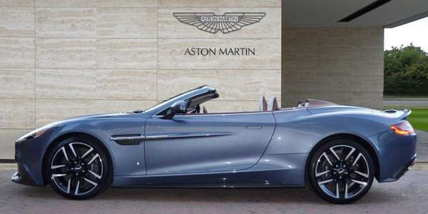 Ride Of The Week Special Edition One Of One Aston Martin Vanquish Volante