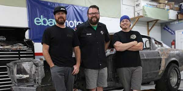 Ebay Motors Teams With Rutledge Wood To Transform A 1967 Ford Mustang Fastback