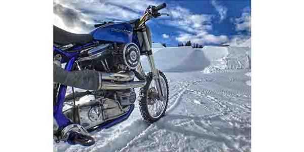 Harley Davidson Debuts Snow Hill Climb At 2018 X Games