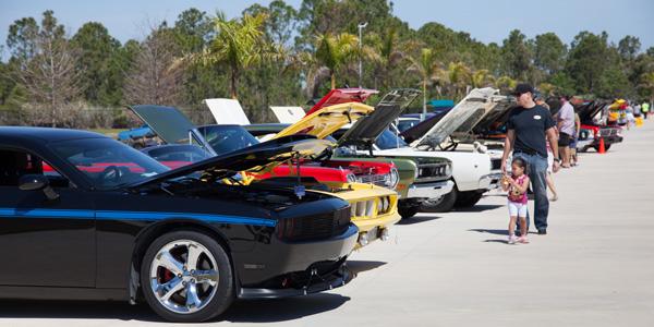 Car Show Heats Up Brevard County Auto Program