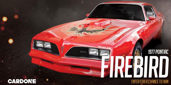 CARDONE To Give Away All-American Muscle Car: '77 Firebird -