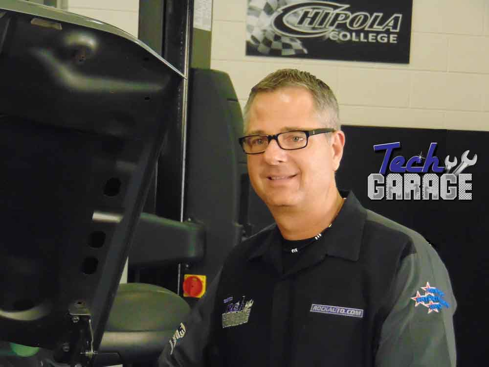 Tech Garage Host John Gardner