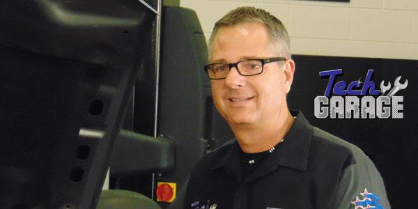 Tech Garage Host John Gardner
