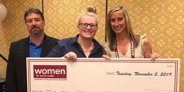 Women In Auto Care Scholarship Winner Tabitha Harris