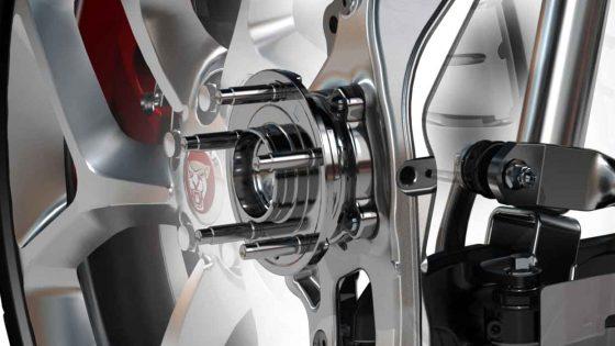 Jaguar Suspension With Wheel Bearing Hub