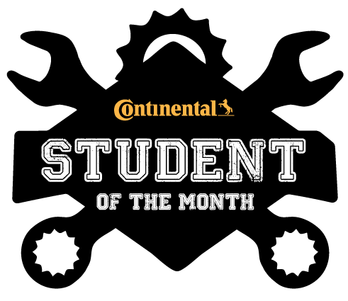 This image has an empty alt attribute; its file name is Continental-StudentoftheMonth.png