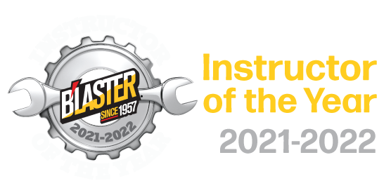 Instructor of the Year 2021 - 2022