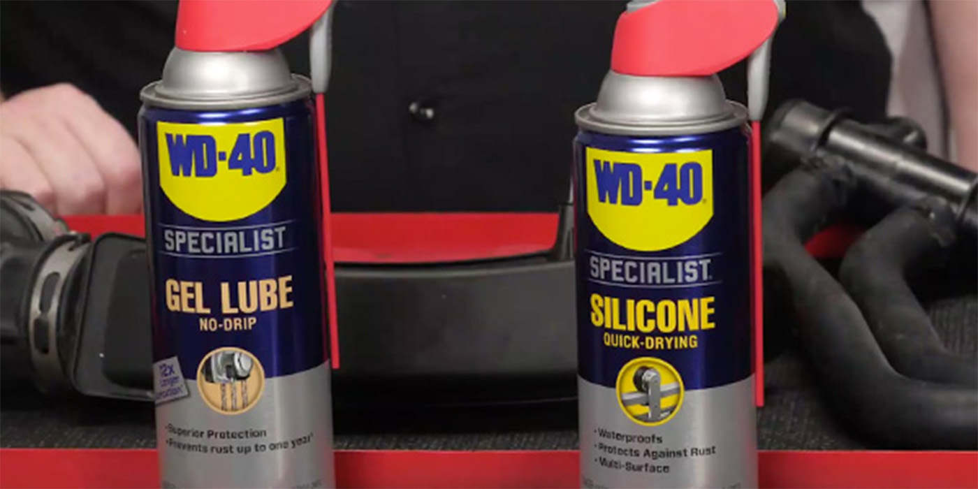 VIDEO: Lubricating Plastic, Rubber And Metal Under The Hood