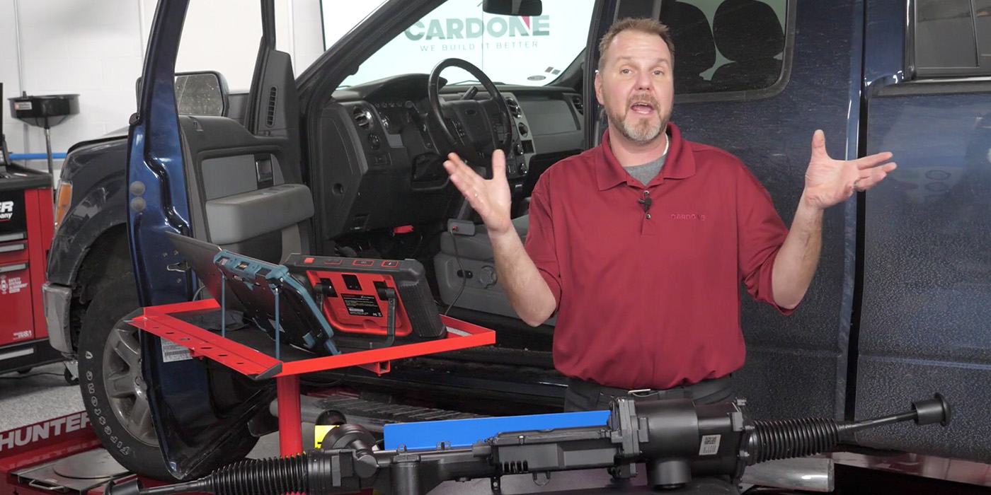 VIDEO: Ford F-150 EPS Rack Replacement