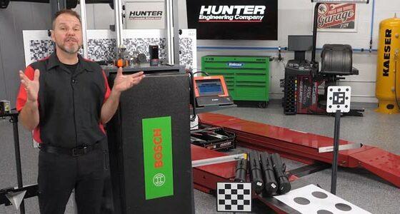 VIDEO: Hunter DAS 3000 & ADASLink Complete Calibration System