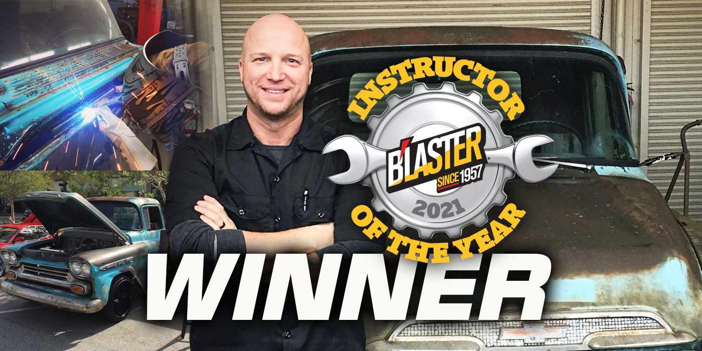 Congrats To Bob Mauger, B'laster Instructor Of The Year!