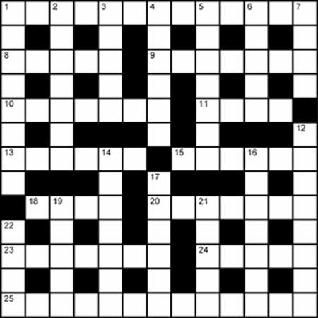 Crossword Puzzle: April 2008 -